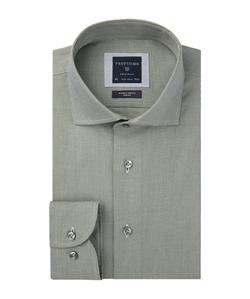 Profuomo Groen Dobby Overhemd