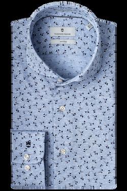 Thomas Maine Dress Shirt Bloemen Print