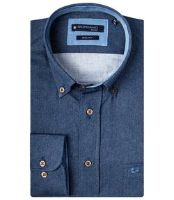 Giordano Overhemd Buttondown Blauw