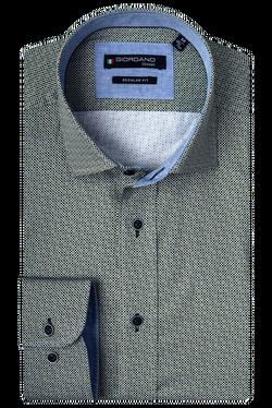 Giordano Overhemd Buttondown Groen...