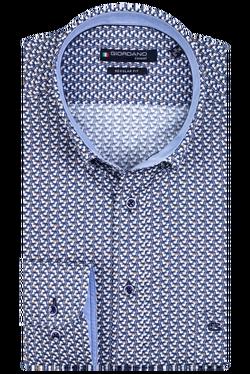 Giordano Overhemd Buttondown Vogel Print