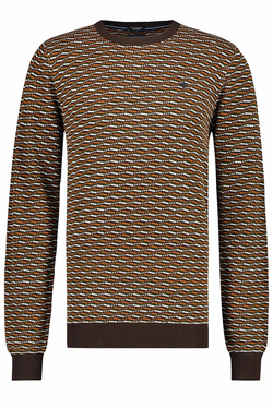 Haze & Finn Graphic Crew Neck Pullover