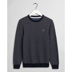 Gant Texture Fisherman Crew Neck Sweater