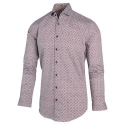 Blue Industry Grafische Print Overhemd