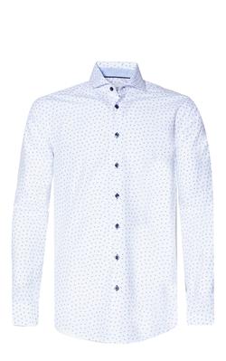 Blue Industry Bloemenprint Overhemd Wit