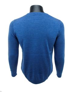 I'm Fine O-hals Pullover Lichtblauw