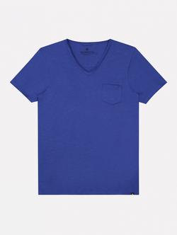 Dstrezzed T-shirt Korte Mouw Kobalt