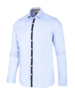 Blue Industry Blauw Dress Shirt