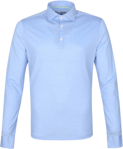 Blue Industry Longsleeve Polo Rugby...