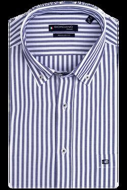 Giordano Regular Heren Overhemd Korte...