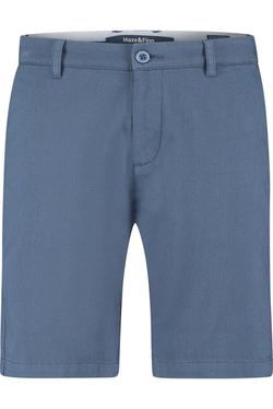 Haze & Finn Short Structure 2-tone Blauw