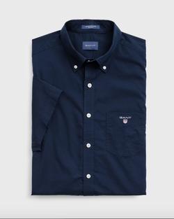 Gantregular Fit Overhemd Van Poplin...