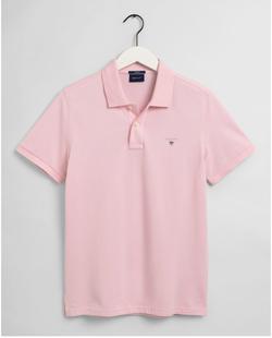 Gantoriginal Pique Poloshirt Roze