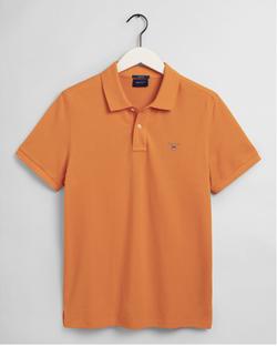 Gantoriginal Pique Poloshirt Oranje