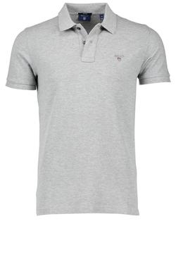 Gantoriginal Pique Poloshirt Grijs