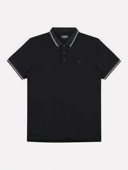 Dstrezzed Basic Polo Clean Zwart