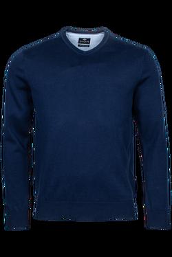 Baileys V-neck Pullover Donkerblauw