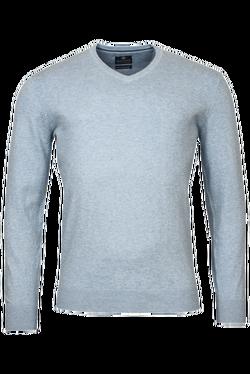 Baileys V-neck Pullover Lichtblauw