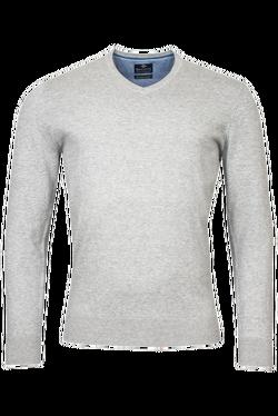Baileys V-neck Pullover Grijs